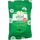 Yes To Cucumbers Soothing Hypoallergenic Facial Towelettes - 10 CT