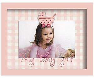 Adorable BABY GIRL CARRIAGE frame by Sixtrees