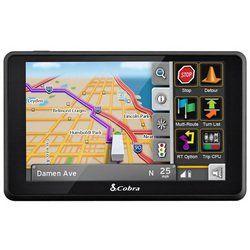 Cobra 6000 PRO HD 5-Inch Navigation GPS for Professional Drivers