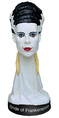 Universal Monsters Little Big Heads The Bride of Frankenstein