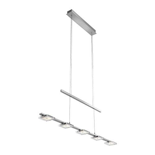 Paul Neuhaus 5-flammige LED-Pendelleuchte Futura 2131-55