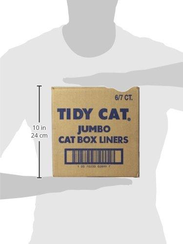 Tidy Cats Cat Litter Cat Box Liners 18x20x7 7 Count