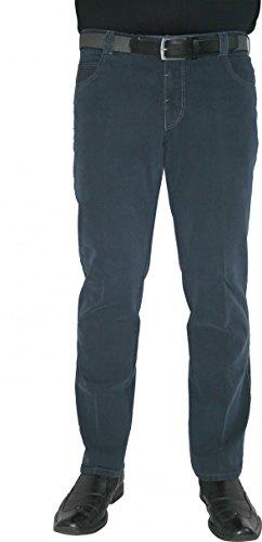 Meyer uomo pantaloni Stretch Dubai 2-3501di colore grigio o blu marrone 39