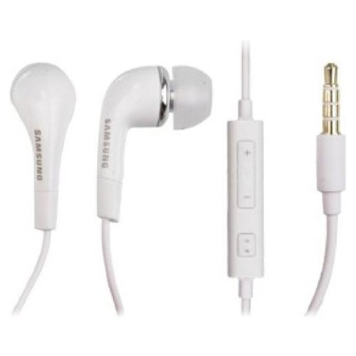 Samsung Original Replacement 3.5mm Premium Stereo Headset for Galaxy S 4 - Non-Retail Packaging - White