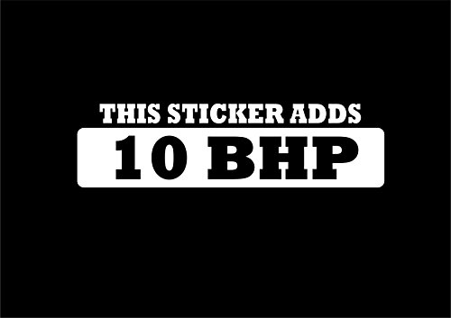 Bringt dieses Aufkleber 10bhp lustiger Auto-Aufkleber Van Fenster Bumper Vinyl Aufkleber