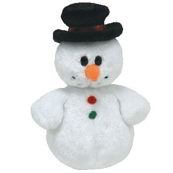 TY Jingle Beanie Baby - COOLSTON the Snowman - 1