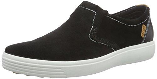 ECCO Soft 7 Men's Pantofole con Imbottitura Leggera, Uomo, Nero(Black/Black 53859), 44