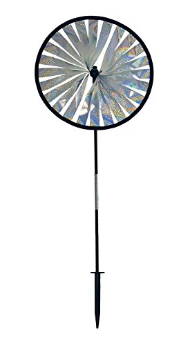 In the Breeze Silver Sparkle Spinner Wheel, 14-Inch