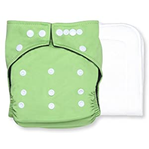 Smart Snugs NatureSnug Bamboo Charcoal Pocket Diaper (Green)