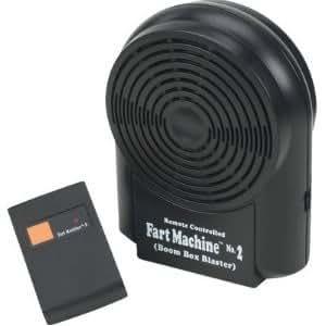 Tj Wisemen Original Rcfm222 Remote Controlled Fart Machine No. 2 - Spread The Fun And Laughter! Jouets, Jeux, Enfant, Peu, Nourrisson