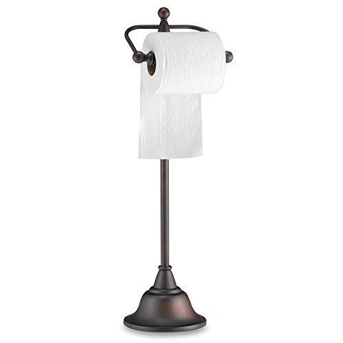 deluxe-pedestal-oil-rubbed-bronze-toilet-paper-holder