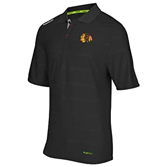 NHL Chicago Blackhawks Team Polo Shirt by Reebok