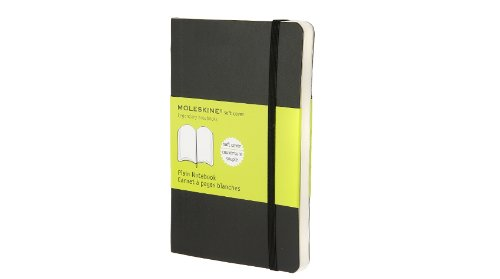 Moleskine Plain Notebook Soft Cover Pocket