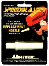 Unitec 007-12 Speed Blaster Ceramic Replacement Nozzle