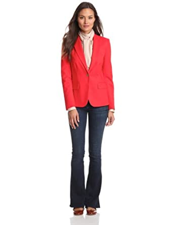 Vince Camuto Women's One Button Blazer, True Rose, 14