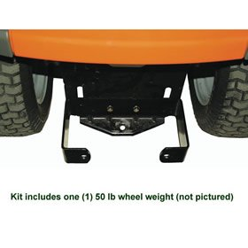 Husqvarna 505549201 50-Pound Tractor Weight With Bracket image