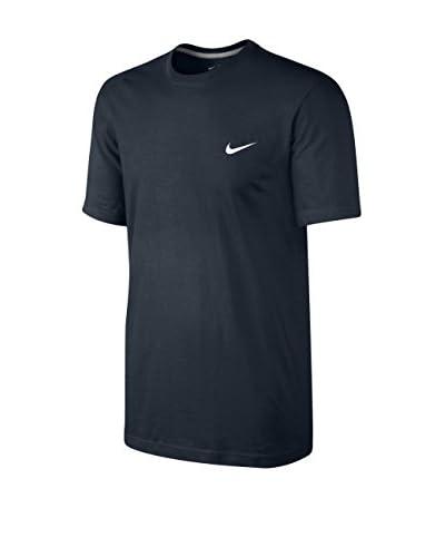 Nike Camiseta Manga Corta Embrd Swoosh Negro