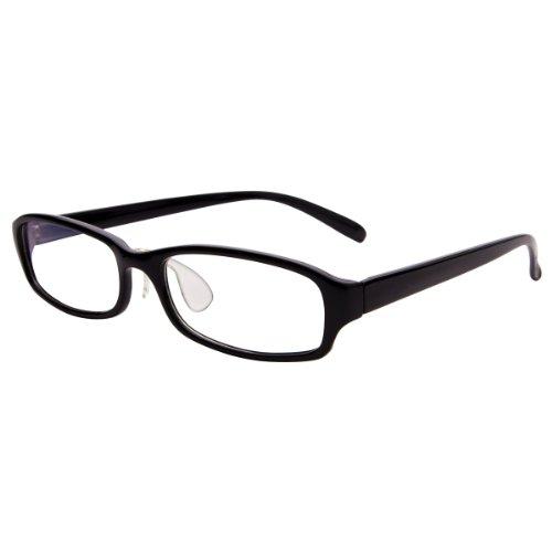 405PC 老眼鏡 リーディンググラス 老眼 PCメガネ PC用メガネ パソコンメガネ パソコン用メガネ 眼鏡 SQEXシリーズ +1.5 グロスブラック