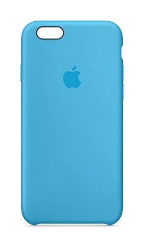 Apple MKY52ZM/A Silikon Schutzhülle für Apple iPhone 6/6S blau