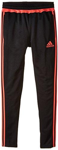 adidas Performance Boys Tiro Pants, Black/Coral, Small