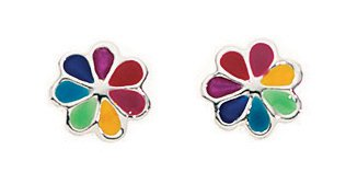 Children`s, young ladies, Girls Flower/Daisy Stud style Earrings.