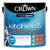 Crown 2.5 Litre Kitchen & Bathroom Matt Serrano Red