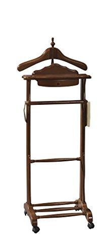 Idee Deco Chambre Ado New York :  Valet de Chambre Bois Mogano 47 x 36 x 113 cm (ancien prix  26014