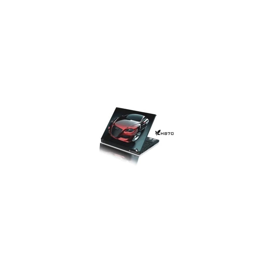 15.4 Laptop Notebook Skins Sticker Cover H870 Car Audi
