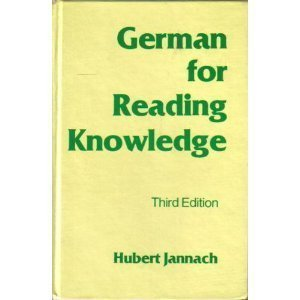 German for Reading Knowledge (English and German Edition)
