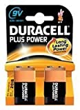 DURACELL - 5000394019287 - BATTERY, PLUS POWER, 9V 2PK