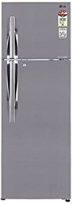 LG GL-D402JPZL Frost-free Double-door Refrigerator (360 Ltrs, 4 Star Rating, Shiny Steel)