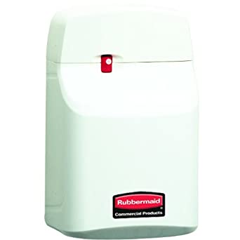 Rubbermaid 5137 Off White Economy SeBreeze 9000 Metered Aerosol Dispenser