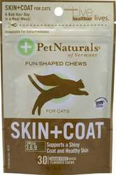 Pet Naturals Skin And Coat Support For Cats - 1 X 30 Chews