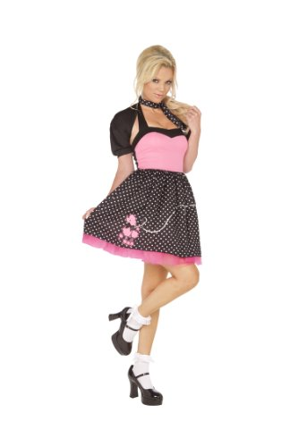 50s Sock Hop Cutie Adult Costume