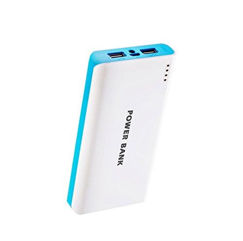 Generisches 50000mAh External Power Bank Backup-Dual-USB-Ladegerät für iPad, iPad 2/3, iPhone 5, iPhone 4, iPhone 4S, iPod, Blackberry, HTC, Android, Samsung (Blau)