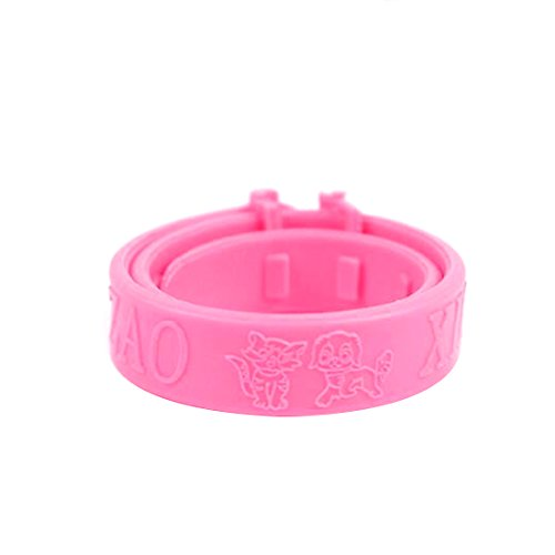 pink-cats-soft-silicone-pet-cats-flea-collar-reject-tick-mite-louse-kitten-collar-new