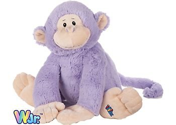 Webkinz Jr. Plush Stuffed Animal Purple Monkey