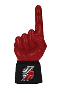 Ultimate Hand Foam Finger Portland Trail Blazers Black Jersey with 1 by Ultimate Hands