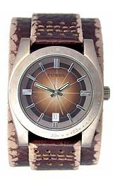 Fossil Mens Casual Leather Watch - Dijon