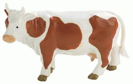 Bullyland Brown & White Cow - 1