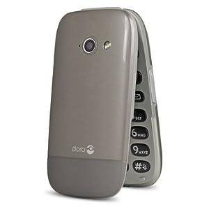 Doro PhoneEasy 632 SIM-Free Mobile Phone - Mocha/Champagne