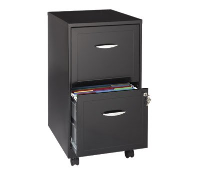 OfficeMax Two-Drawer Mobile File