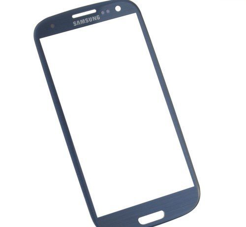 Original Samsung Galaxy S3 SIII Pebble Blue Front Glass Replacement - D&R electronix (Galaxy S3 Red Screen Repair Kit compare prices)