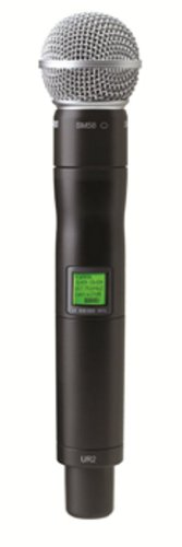 Shure Ur2/Sm58 With Sm58 Cardioid Microphone, H4