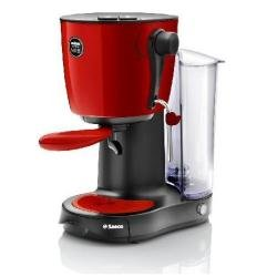 Saeco Lavazza A Modo Mio Piccina Espresso-Capsule Machine, red