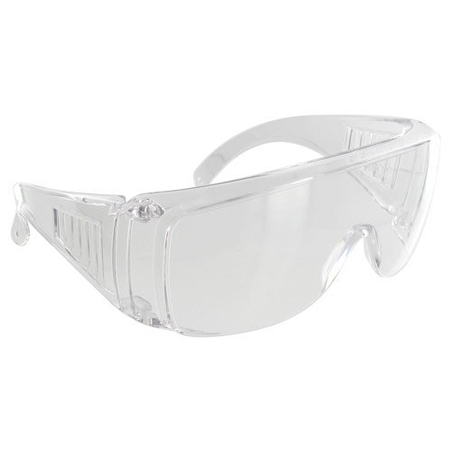 Rugged Blue SC-203 Polycarbonate Visitor Safety Glasses (Cool Safety Glasses Z87 compare prices)