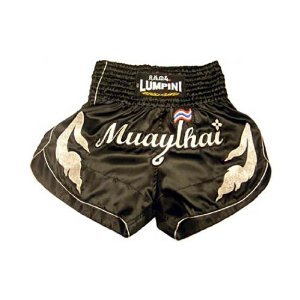 "Muay Thai Kick Boxing shorts Mma Training short ""lumpini 014"" Made in Thailand"