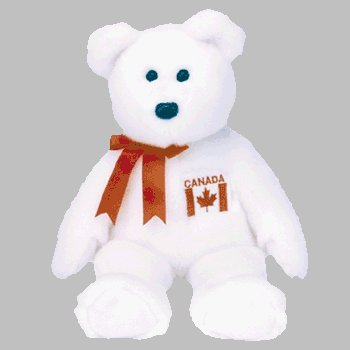 1 X TY Beanie Buddy - MAPLE the Bear (Canadian Exclusive) - 1