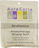 Aura Cacia Meditation Mineral Bath Salts 2.50 Ounces
