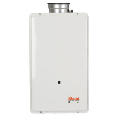 Rinnai V65IN 5.3 GPM Indoor Low NOx Tankless Natural Gas Water Heater